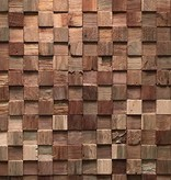 Rebel of Styles Teak Wood panel 3D Ultrawood Teak Square no FSC