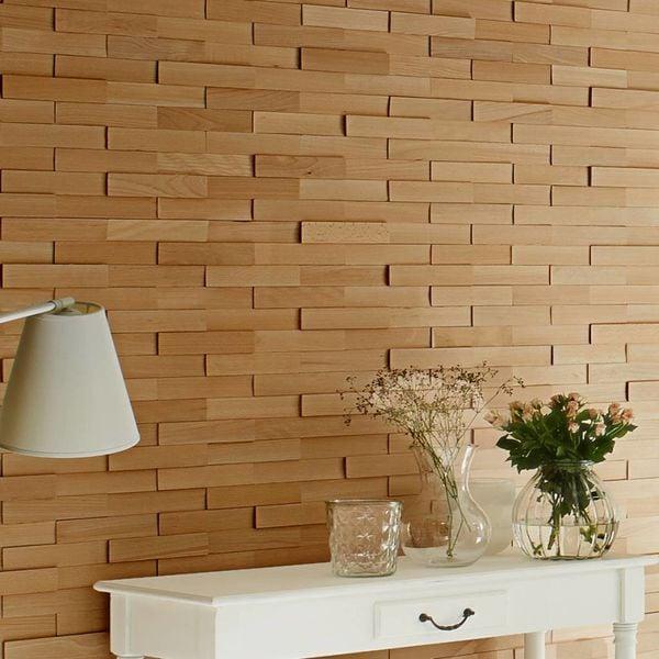 Wanddeko modern holz  Holzverblender - style4walls