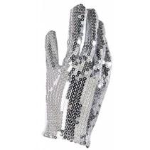 Zilveren Handschoen Paillet