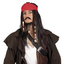 Piraten Pruik Set (K13-1-4)