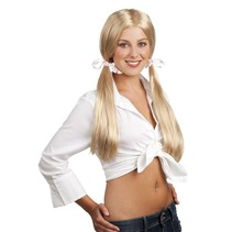 Schoolmeisje Pruik (K13-3-4)