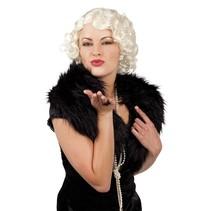 Marilyn Monroe Pruik Deluxe (K13-4-4)