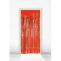 Rood Deurgordijn Folie 2 meter