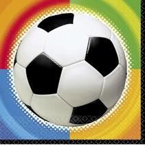 Voetbal Servetten 16 stuks