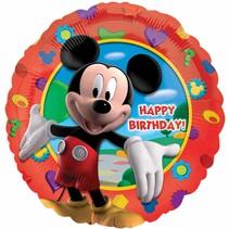 Mickey Mouse Helium Ballon 43cm leeg of gevuld
