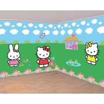 Hello Kitty Poster XL 5 delig (E6-2-2)