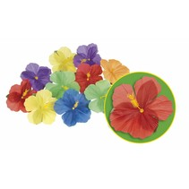 Hawaii Decoratie Bloemen 24 stuks