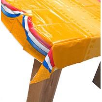 Oranje Tafelkleed Rood Wit Blauw 180x130cm (H1-3-3)