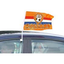Autovlag Oranje EK/WK 45cm