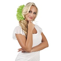 Haarbloem Lime Groen 20cm (A9-2-4)