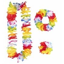 Hawaii Krans Set Bloemen (C1-2-3)