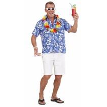 Hawaii Shirt Blauw (P1-2-1)