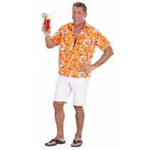 Hawaii Shirt Oranje (P1-2-3)