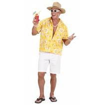 Hawaii Shirt Geel (P1-2-4)