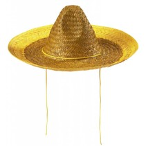 Sombrero Geel 48cm (A7-4-1)