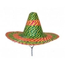 Sombrero Gekleurd 50cm (A7-5-2)
