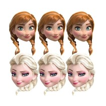 Frozen Maskers 6 stuks (E5-3-2)