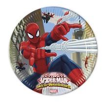 Spiderman Borden 23cm 8 stuks