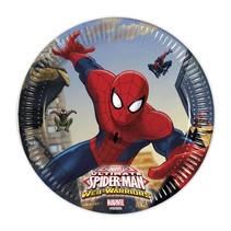 Spiderman Gebaksbordjes 20cm 8 stuks