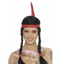 Indianen Pruik Dames (K13-6-1)