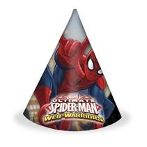 Spiderman Hoedjes 6 stuks