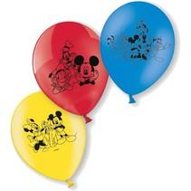 Mickey Mouse Ballonnen Party 23cm 6 stuks (E17-7-7)