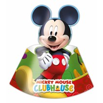 Mickey Mouse Hoedjes 6 stuks (E17-8-3)