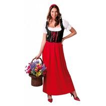 Roodkapje Kostuum S/M (P14-2-2)
