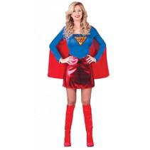 Super Vrouw Kostuum M/L