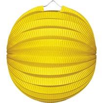 Gele Lampion Bol 23cm (I17-5-2)