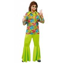 Hippie Kostuum Groen M/L