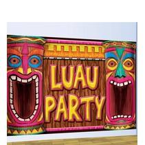 Hawaii Wanddecoratie Luau Party 1,2 meter