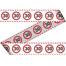 Afzetlint 30 jaar Verkeersbord 15 meter (D7-5-4)