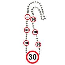 Ketting 30 Jaar Verkeersbord (D7-5-5)
