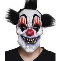 Halloween Masker Clown met haar Deluxe voorkant