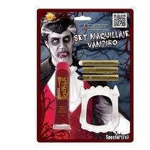 Schminkset Vampier met gebit 20ml (K7-7-4)