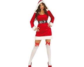 Kerstkleding & Kerstvrouw Kostuums