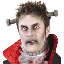Halloween Diadeem Schroef door hoofd