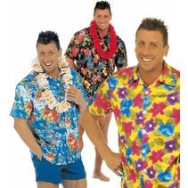 Hawaii Shirt Bloemen M/L (P1-2-6)