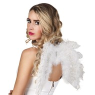 Engelen Vleugels Wit met glitters