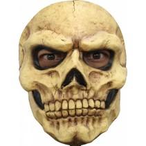 Halloween Masker Schedel Deluxe voorkant