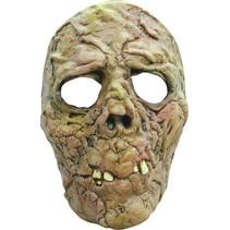 Halloween Masker Zombie Rottend Deluxe voorkant