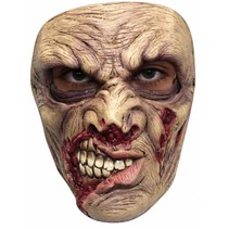 Halloween Masker Deluxe Zombie Scary voorkant