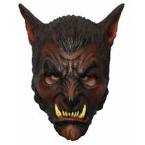 Halloween Masker Wolf Deluxe volledig