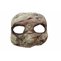 Halloween Masker Mummy Deluxe half