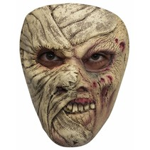 Halloween Masker Mummy Half Deluxe voorkant