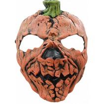 Halloween Masker Pompoen Deluxe voorkant