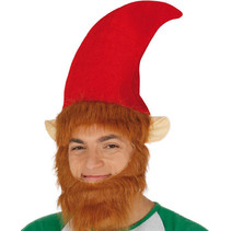 Elfen Muts met baard