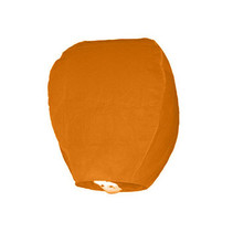 Wensballon Oranje 75cm (I18-3-3)