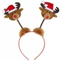 Kerst Haarband Rendier Kerstmuts